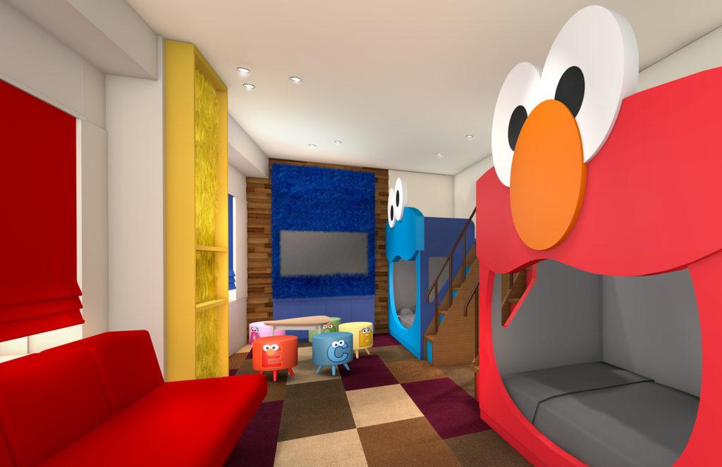 Sesame Street™️ Big face Room