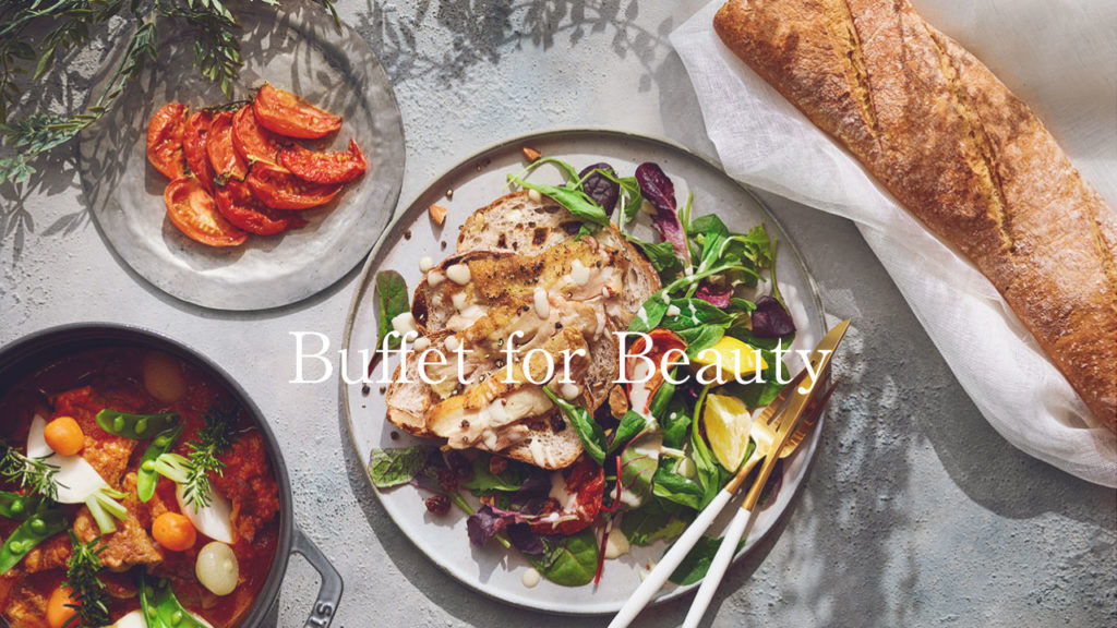 Buffet for Beauty -フレンチ×美容×ディナー-